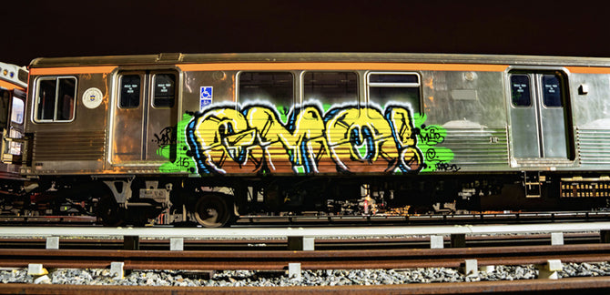 Emo Wants the World to Respect Jersey Graffiti