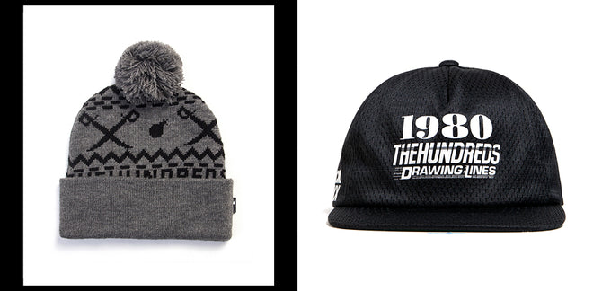 The Hundreds Winter 2015 Headwear :: Available Now