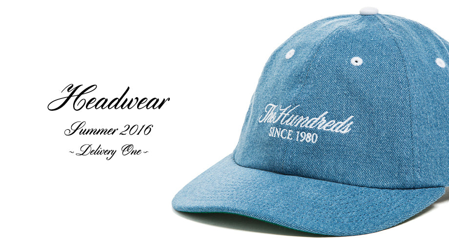 Available Now :: The Hundreds Summer 2016 Headwear