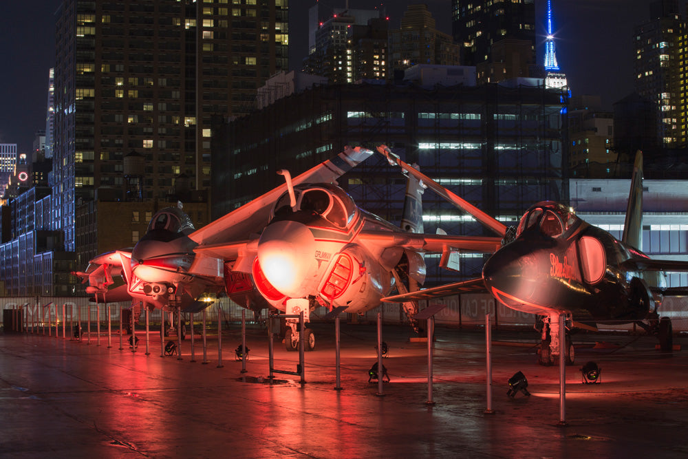 QUICKIE 5/31 :: On the USS Intrepid