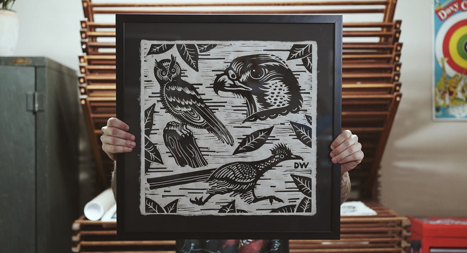 Carving it Out :: The Wood Cut Illustrations of Denton Watts