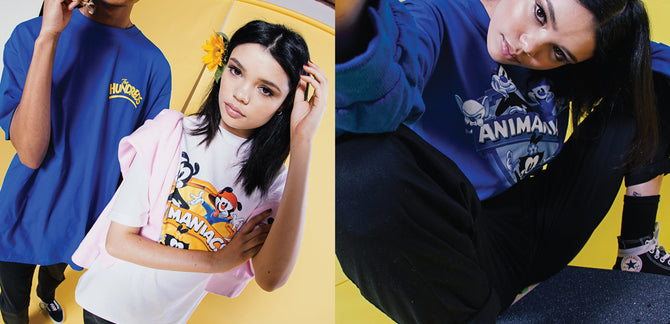 The Hundreds X Animaniacs Lookbook :: Shot by Bobby Hundreds