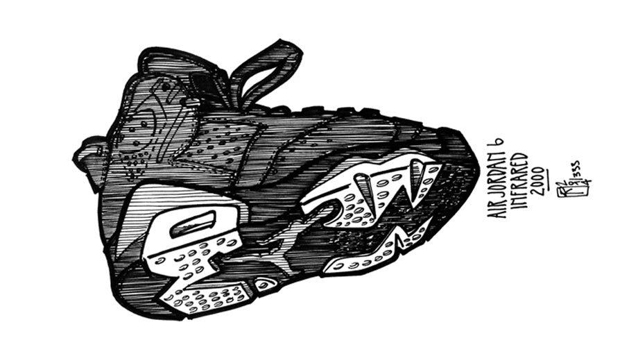 KWILLS Sketches His 10 Favorite Sneakers