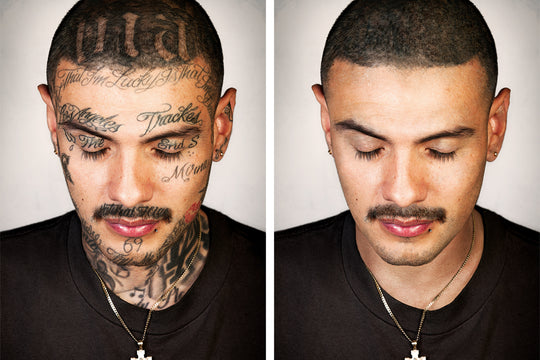 'Skin Deep' Is a Powerful Book of Portraits Documenting Ex-Gang Members Without Tattoos