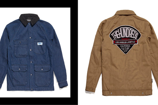 The Hundreds Winter 2015 :: Nano Coat Outerwear