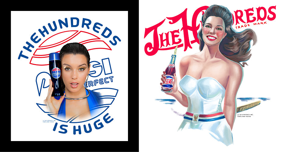 The Hundreds X Pepsi :: Through the Decades