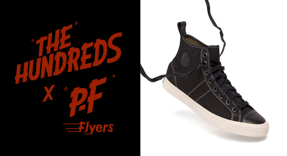 The Hundreds X PF Flyers