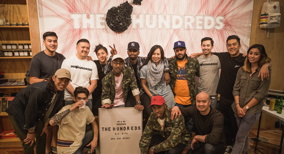 Recap :: Ben and Bobby Hundreds' Q&A at P's & Q's