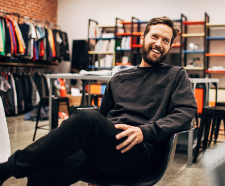 PATRICK HILL OF PUBLIC LABEL ON MINIMALISM AND REBELLION