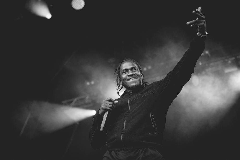 G.O.O.D Music in the Woods :: PUSHA T at Hovefestivalen