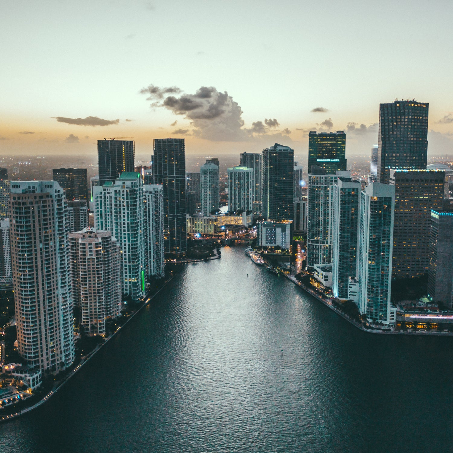 Airing Out :: Flying Over Miami