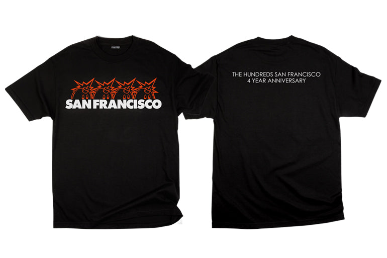 THE HUNDREDS SAN FRANCISCO FOUR-YEAR ANNIVERSARY EXCLUSIVE RELEASE