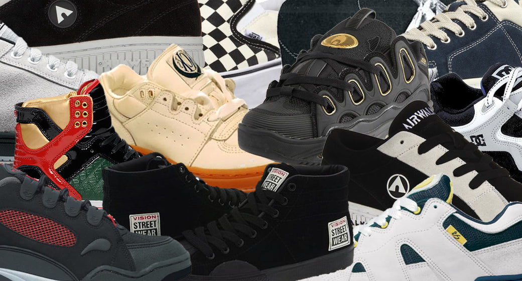 QUESTIONABLE :: Retracing the Strange History of Skate Shoe Design
