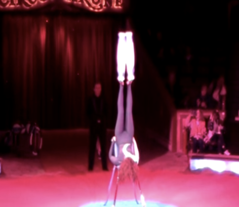 THIS ACT IS AN AMAZING FEET