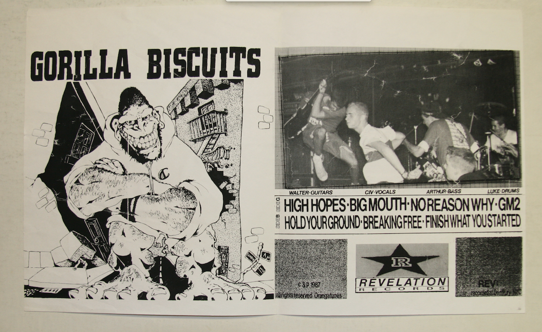 eb78d96f Meet Billy Sidebyside, the Little-Known Artist Behind the Iconic Gorilla  Biscuits Mascot