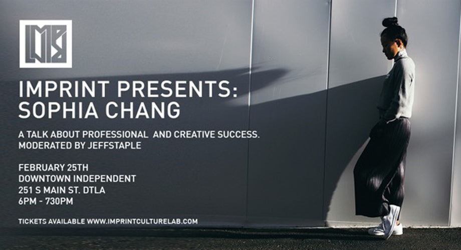 Imprint Presents: A Sophia Chang & Jeffstaple Discussion