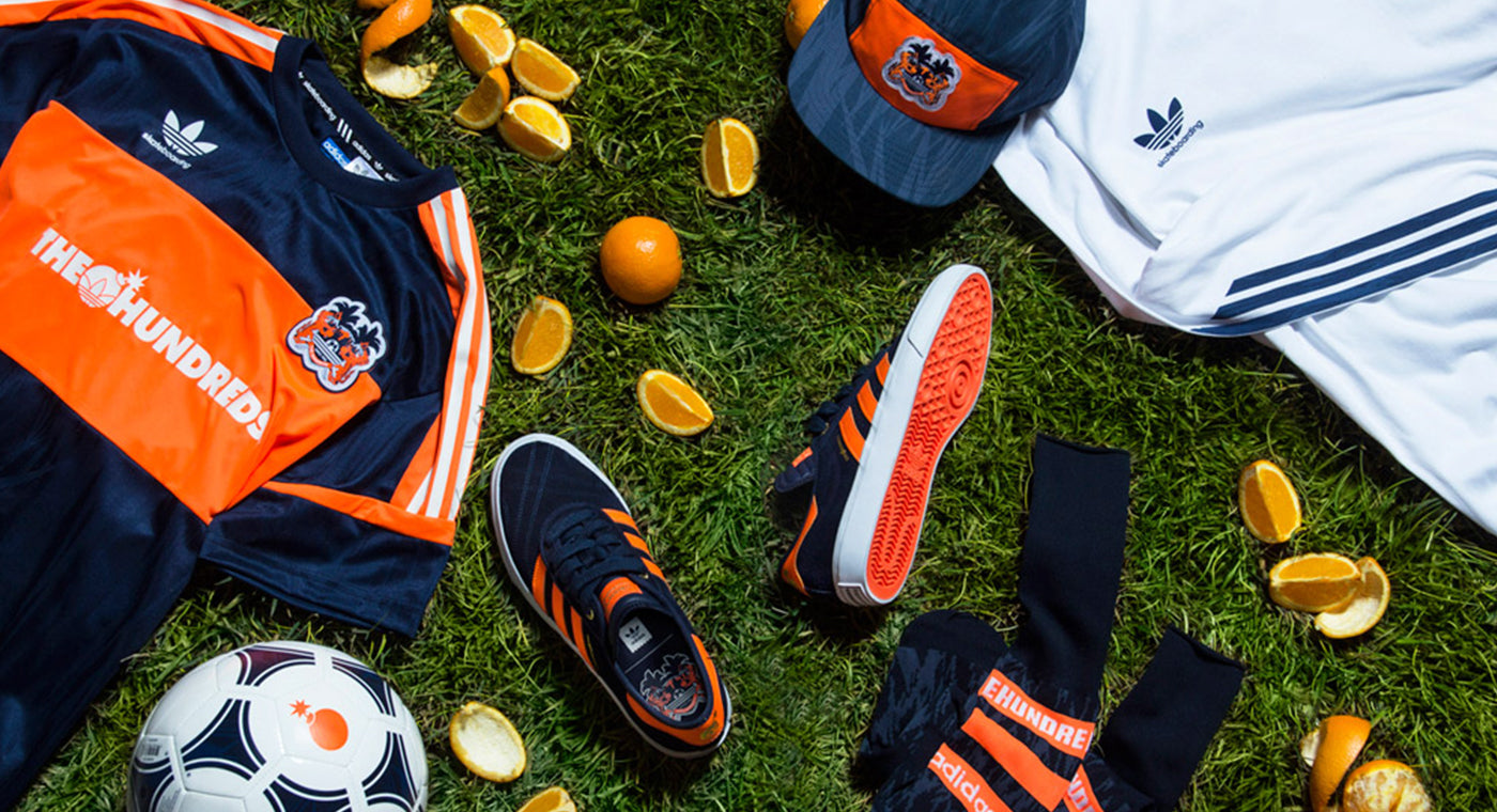 The Hundreds X adidas Skateboarding ::