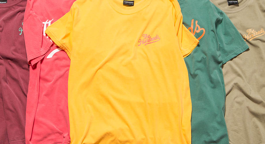 Cool, Calm, Collected :: The Hundreds Vintage Colored T-Shirts Are Available NOW