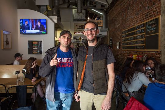 On the Block :: Q&A with the Guys Behind Fairfax Mainstays The Golden State, Prime Pizza, and Cofax