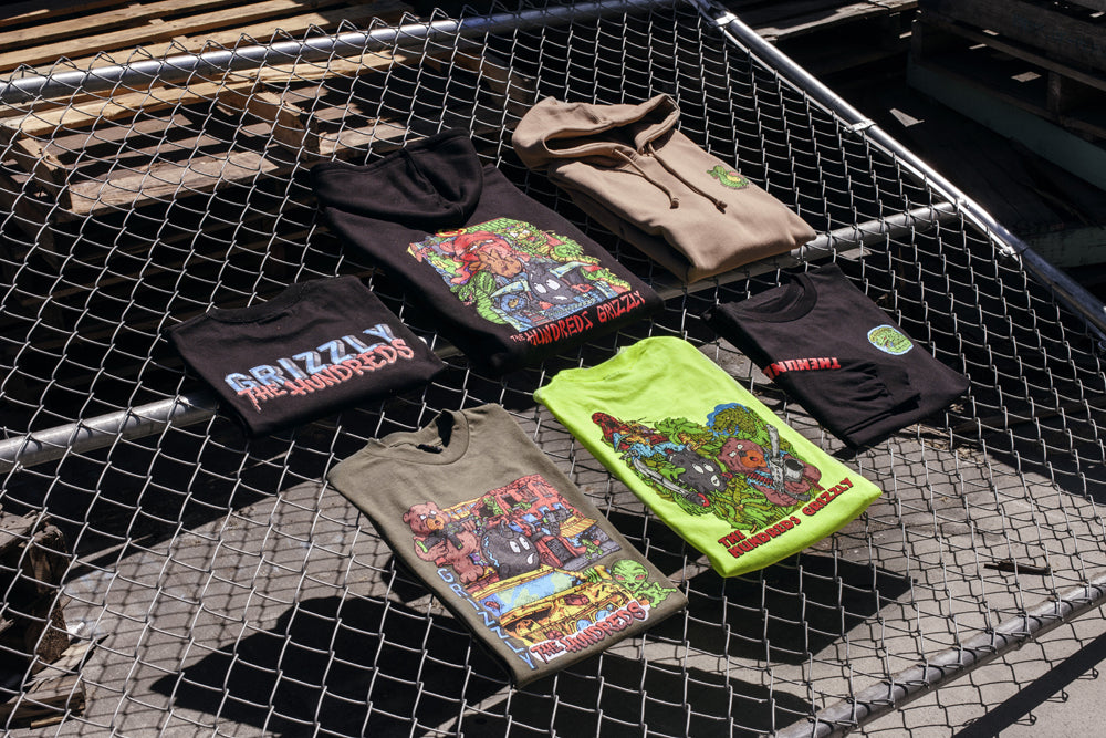 KC Ortiz for The Hundreds X Grizzly :: Available Now