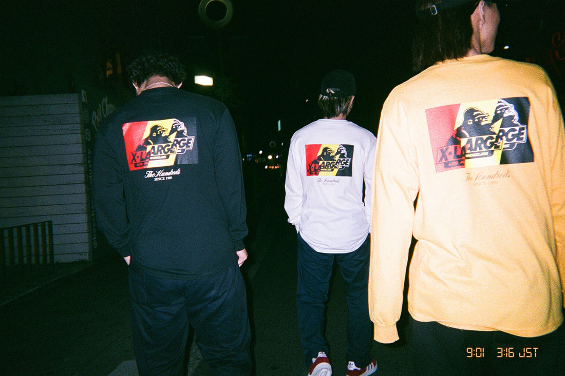The Hundreds X XLARGE Lookbook, Shot Simultaneously in Tokyo and Los Angeles