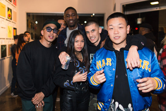RECAP :: Opening Party for the New The Hundreds Los Angeles at 501 N. Fairfax