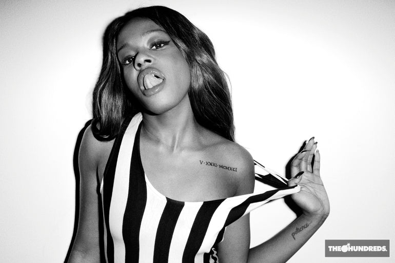AZEALIA BANKS FOR THE HUNDREDS.