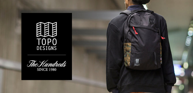 The Hundreds X Topo Designs :: Available Now