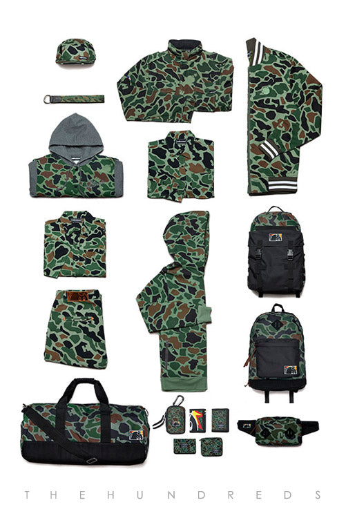 Duck Camo :: The Hundreds Fall 2013