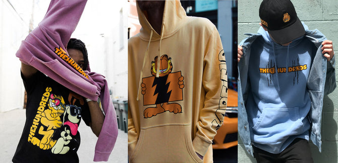 Here's Where to Cop The Hundreds X Garfield