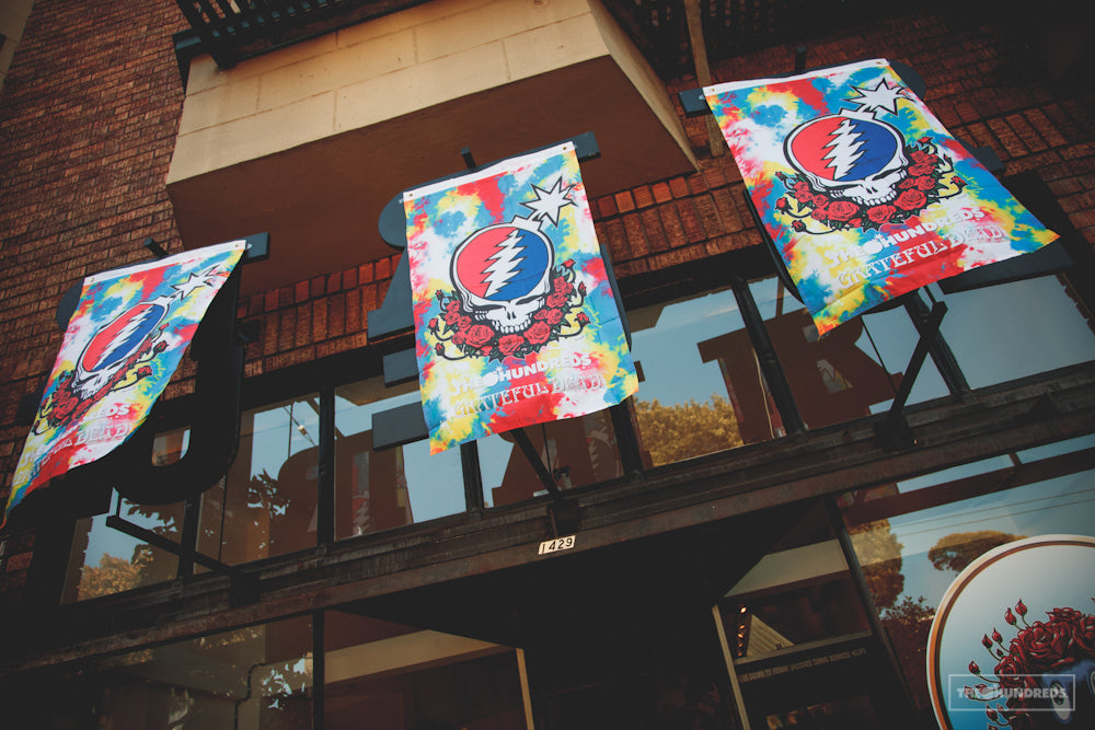 THE HUNDREDS X GRATEFUL DEAD POP-UP SHOPPE...EXTENDED!