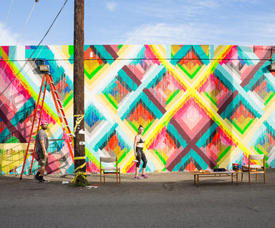 Photo Diary :: An Exhilarating Week of Street Art at POW! WOW! Hawaii