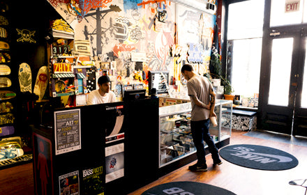 Uprise Skate Shop in Chicago