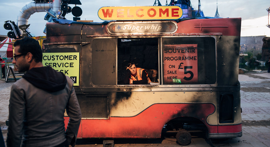 Never-Before-Seen Moments at Banksy's Now-Closed Dismaland