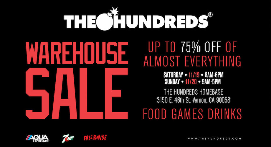 It's the Most Wonderful Time of the Year :: The Hundreds Warehouse Sale Is BACK