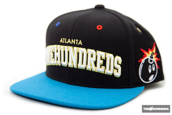 "THE HUNDREDS x WISH ATL ""PLAYER"" SNAPBACK CAP"