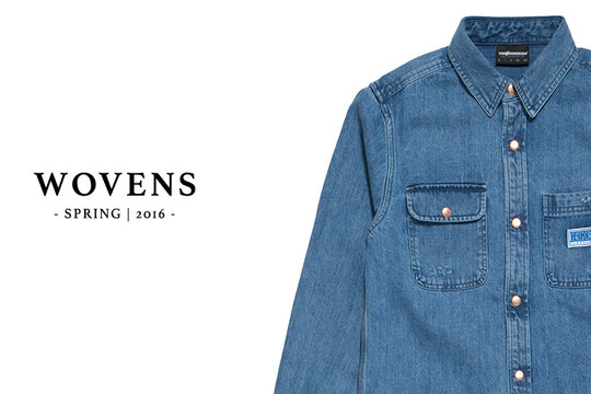 Available Now :: The Hundreds Spring 2016 Wovens