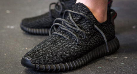 A Closer Look at the Black adidas Yeezy 350 Boost