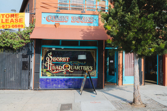 An Inside Look at LA's Mysterious Secret Headquarters Comic Book Shop