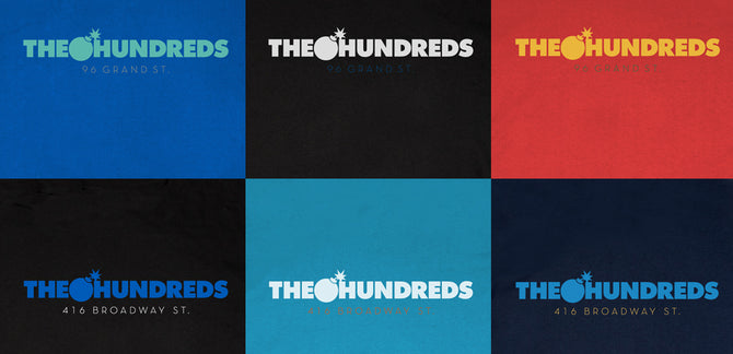 THE HUNDREDS STORE EXCLUSIVE™ TEES RELEASE TODAY.