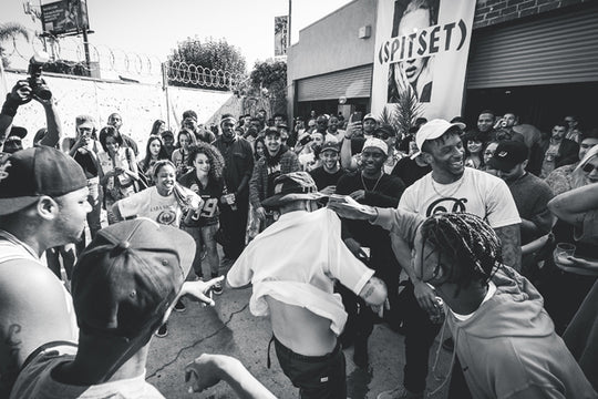 Memorial Weekend SPITSET Recap :: Chuck Inglish & Polyester the Saint