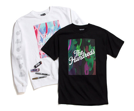 THE HUNDREDS X ALL GONE 2014 CAPSULE :: AVAILABLE AT THSF SATURDAY