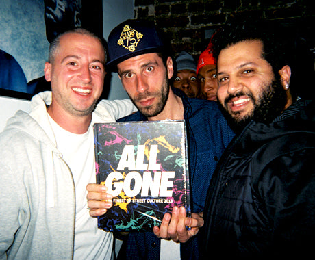 The All Gone Book Launch at Undefeated La Brea