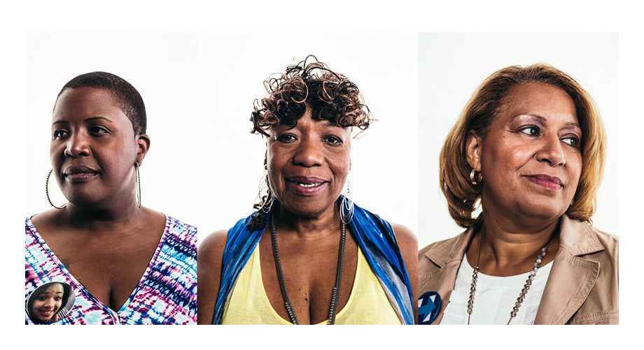 Anthony B. Geathers Photographed 7 Mothers of Victims of Police Violence at the DNC