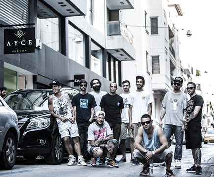 MEET AYCE SKATESHOP :: ALL YOU CAN EAT IN ATHENS