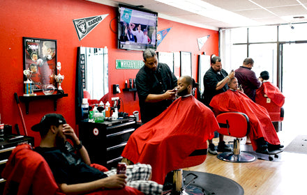 Barbershawpin' in Anchorange, Alaska :: Maritza's