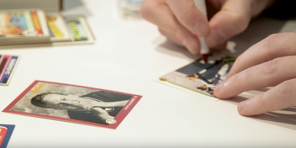 DECENT JOKES ON WORTHLESS CARDS :: The Tale Of The Baseball Card Vandals