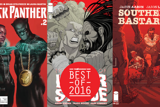 Only Built 4 True Believers :: The Best 5 Comics of 2016