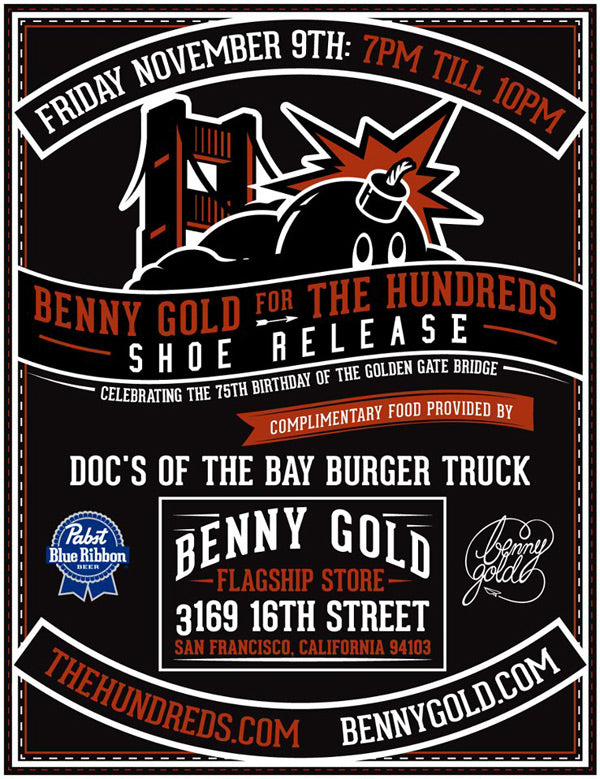 BENNY GOLD FOR THE HUNDREDS :: SHOE RELEASE PARTY