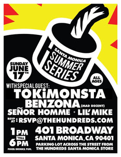 THE HUNDREDS SANTA MONICA SUMMER SERIES : TOKiMONSTA